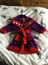 MINI CLUB MONSTER DRESSING GOWN 6-9 Months BABY BOYS