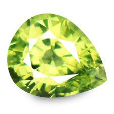 1.73ct 100% Natural earth mined alexandrite family yellowish green chrysoberyl