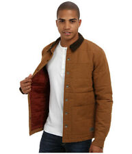 Vans Men's Barka Jacket, Rubber Brown