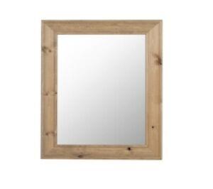 Large Modern Oak Wall/Bathroom/Hallway Mirror | Wooden Framed wall mirror