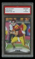 SAM DARNOLD 2018 / '18 LEAF DRAFT 1ST GRADED 10 ROOKIE CARD RC NY NEW YORK JETS