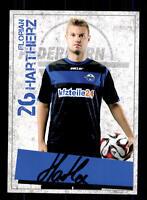 Florian Hartherz Autogrammkarte SC Paderborn 2014-15 Original Signiert+A 132626