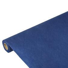 10 dunkelblaue Tischdecken stoffähnlich Vlies soft selection 10m x 1,18m Papstar