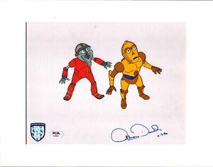 "ANTHONY DANIELS Signed Star Wars ""DROIDS"" Cartoon Animation Cel PSA/DNA #AJ40561"