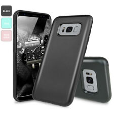 For Samsung Galaxy S8 Dual Layer Shockproof Hybrid Armor Protective Cover Case