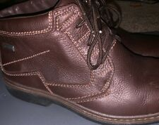 Clarks Gore-Tex Active Air Boots Mens Size 9.5 Waterproof Brown Leather Mint