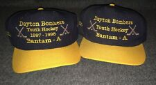 Dayton Bombers Youth Hockey Trucker Hat Lot Of 2 VINTAGE