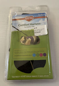 Kaytee Super Pet Comfort Harness + Stretchy Leash Medium PINK for Small Animals