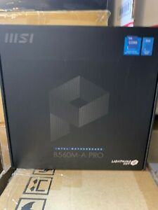MSI B560MAPRO Motherboard Computer Intel 11th Gen Chipset New