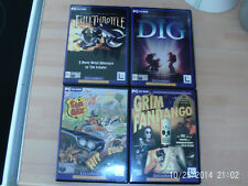 Full Throttle & Grim Fandango & Sam + Max Hit the Road & la excavacion