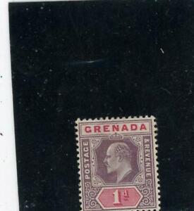 Grenada 1902 Scott# 49 Mint og LH