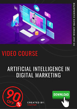 Artificial Intelligence In Digital Marketing video course training tutorial