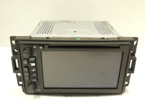 2005-09 Saab 9-7x Radio Receiver Navigation Display Screen OEM