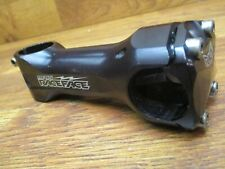 RACE FACE CNC 25.4mm 80MM MTB BMX STEM SILVER EVOLVE FORGED Free Shipping