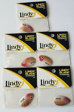 LINDY BLADES  5 PACKS #5 INDIANA LBI502  REDTAIL 3 PER PACK 15 TOTAL