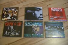 6 old school rap MAXI CD Gang Starr Public Enemy Rakim e-40 A Tribe Called Quest