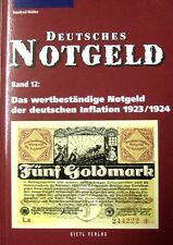 Deutsches Notgeld Germany noodgeld Allemagne Germania inflatie 1924/25 inflation