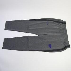 Kansas State Wildcats Nike Dri-Fit Athletic Pants Men's Dark Gray Used
