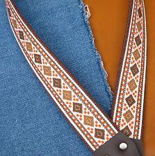 DIAMONDHEAD Cotton USA - made A & F-style MANDOLIN Strap by TROPHY