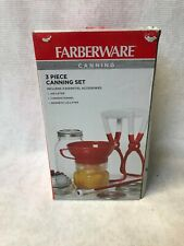 Farberware 3-Piece Canning Set -  Funnel, Jar Lifter and Lid Lifter Prepper