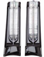 CIRO FILLER PANELS IN BLACK WITH LED LIGHTS FOR HARLEY DAVIDSON 2014-2017