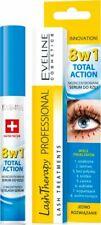 Eveline Lash Therapy 8 in 1 Total Action Eyelash Serum Hyaluron & Argan 10 ml
