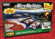 GI Joe Micro Machines Cobra Tank Battalion Playset #79949 New Sealed Contents