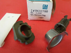 NOS 1980 Chevrolet Chevette Rear Trunk Compartment Lock Service Package 9632780