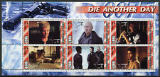 Guinea 2003 MNH James Bond 007 Die Another Day 6v M/S II Movies Stamps