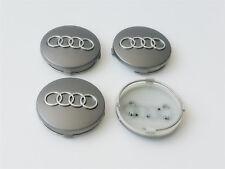 Audi Leichtmetall Radkappen x4 60mm Grau 4b0601170 A 1 2 3 4 5 6 7 8 Q Rs Tt