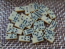 Jeux de dominos x2 bakelite bois os jeux de café bistro 1950