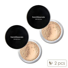 2 PCS bareMinerals Original Foundation Broad Spectrum Fairly Light N10 #8651_2