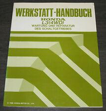 Werkstatthandbuch Honda Civic 4 WD L3 Schaltgetriebe Wartung Reparatur Allrad