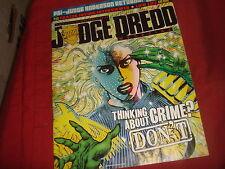 JUDGE DREDD MEGAZINE Meg 272  June 2008  2000 AD A.D. Spin-off UK Comic