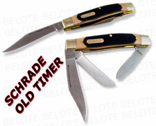 Schrade Old Timer Senior 3-Blade Pocket Knife 8OT *NEW*