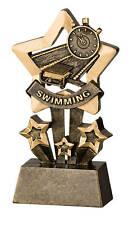 Swimming Star Resin Trophy Free Engraving