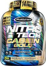 MUSCLE TECH CASEIN NITRO-TECH CASEIN GOLD 2.29kg 25% Extra - (VANILLA)