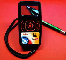 compact HD digital Kodak zx1 camera & camcorder weather rain water resistent
