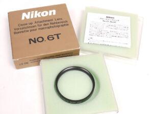 Nikon Close-Up Lens 6T - 62mm - Mint In Box