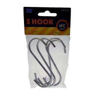 Stainless Steel S Shape Hooks Kitchen Meat Pot Pan Utensil Clothes Hanger Set