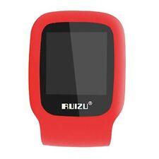 RUIZU X09 4GB Sport Mini Screen Clip USB MP3 Media Player Micro SD TF Card Red