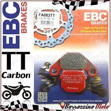 PASTIGLIE FRENO POSTERIORE CARBON EBC FA083TT PGO X-RIDER 50 2003