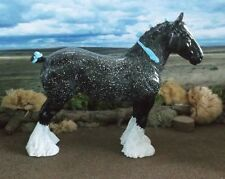 BHR Blue Roan CLYDESDALE Black Horse Ranch Karen Grimm Resin Model