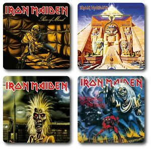 Iron Maiden 4 Piece Coaster Sets