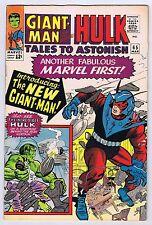 Tales to Astonish #65 Fine+Very Fine 1965 Hulk Giant Man Stan Lee Jack Kirby