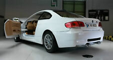 G LGB 1:24 Scale White Diecast Very Detailed BMW M3 3 series 2006 Motormax 77347
