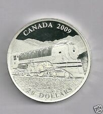2009 $20 Dollar Jubilee Fine Silver Locomotive Coin W/Edge Lettering