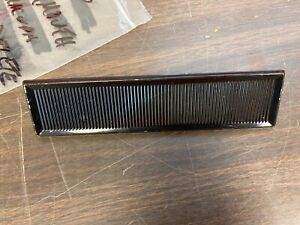 1963-66 PLYMOUTH VALIANT  BARRACUDA  DART  BLACK  RADIO DELETE PLATE   720