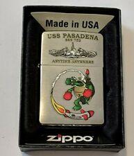 Zippo 2012 F 12 Uss Pasadena Ssn 752 Anytime N'Importe Où Sous-Marin
