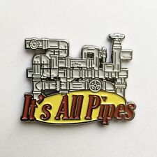 IT'S ALL PIPES Enamel Pin seinfeld kramer larry david george costanza